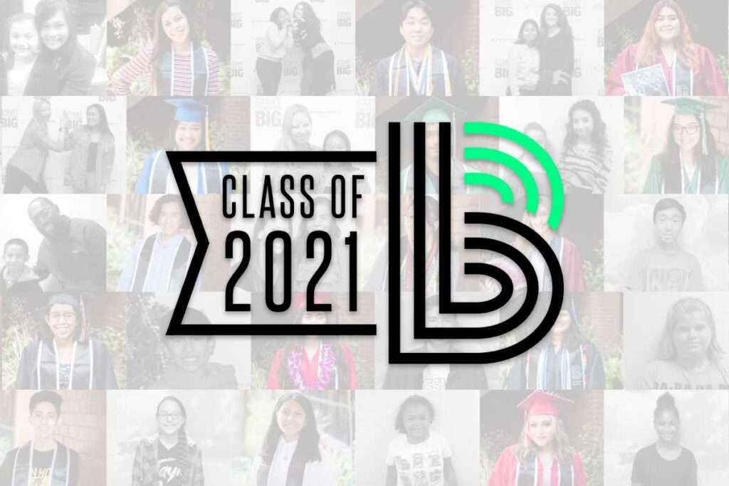 Big Brothers Big Sisters Class of 2021